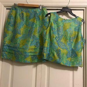 Kasper skirt set size 12P